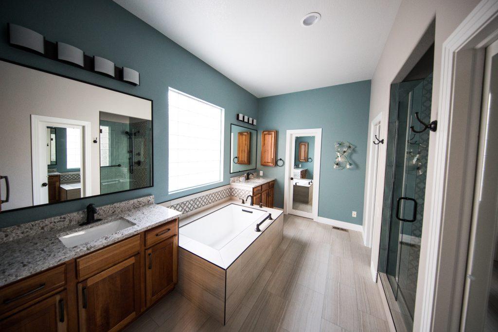 panele w łazience