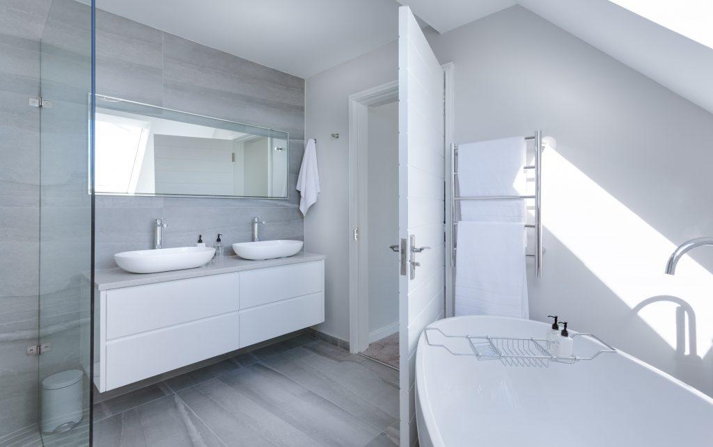 panele łazienka